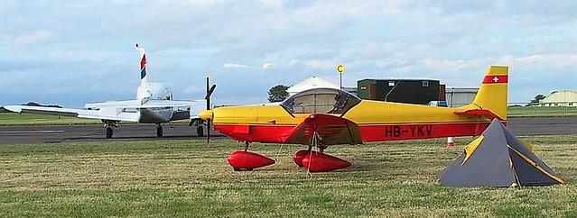 HB-YKV at Kemble 2005