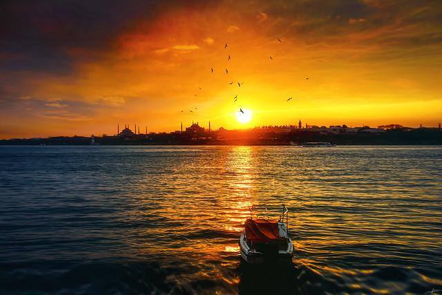 Day End in Istanbul