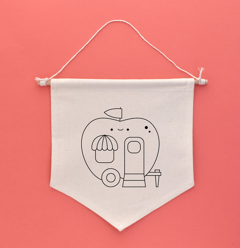 2021 September Shiny Apple Caravan Embroidery