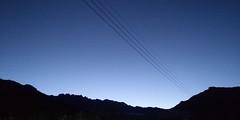 구름 한 점 없이 청명한 가을 밤하늘