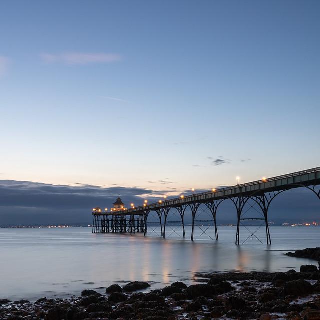 Clevedon Pier - Twilight
