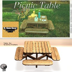 Petit Chat : Picnic Table @ SL Home & Decor weekly Sale