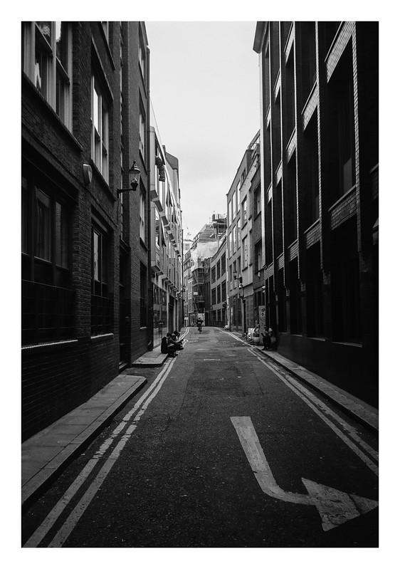 Backstreets in London