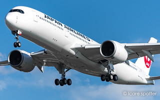 Airbus A350-941. Japan Airlines. JA12XJ / F-WZHG. MSN: 536