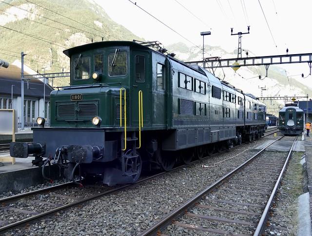 Ae 8/14 11801 Erstfeld Switzerland
