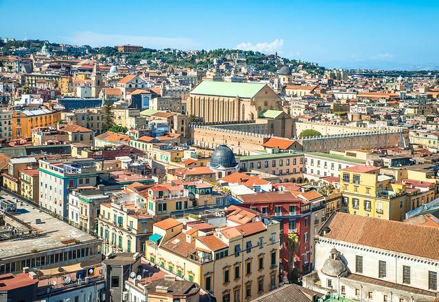 Napoli - Basilica e monastero di Santa Chiara