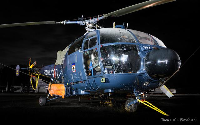 LFPM | Marine Nationale Sud-Aviation SA316 Alouette III | 997