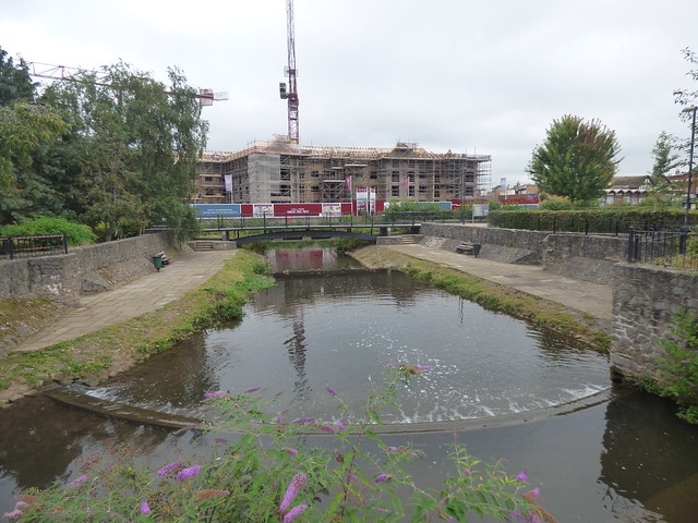 Goodland Gardens, Taunton - Old Leat from French Weir