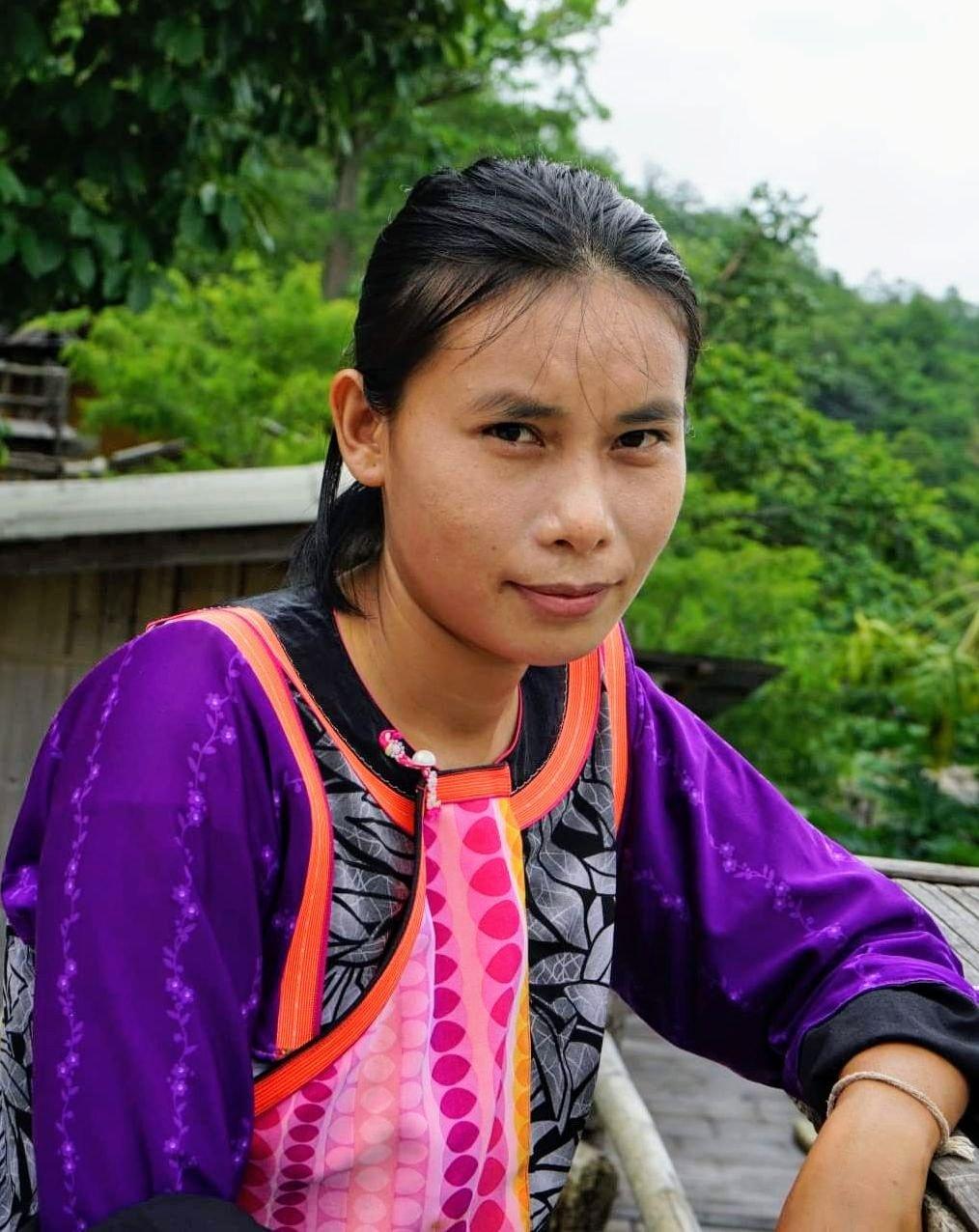 อะลูเมะ เลายี่ปา บ้านพักเฮือนสุข ชุมชนลีซูบ้านนาเลาใหม่