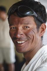 Pasang Gomba after summitting Everest/Chomolungma