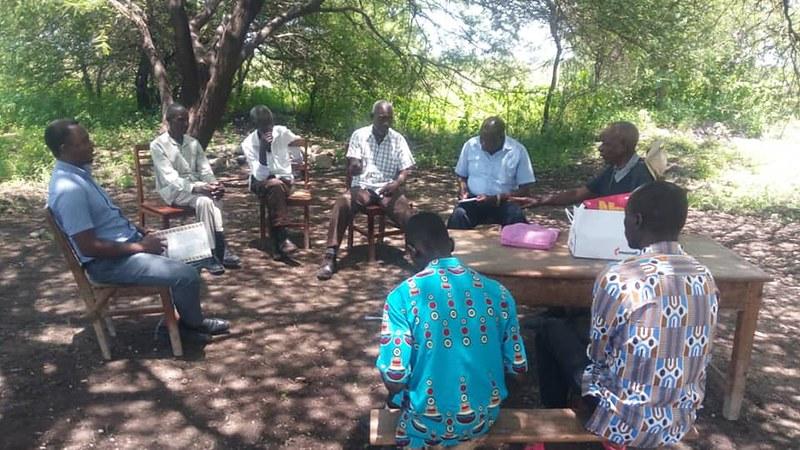 Farmers group in Shinyanga, Tanzania