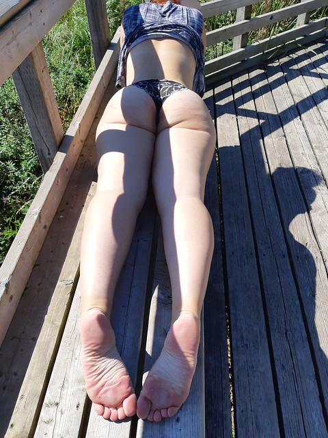 Outdoor Fun With My Gorgeous Wife