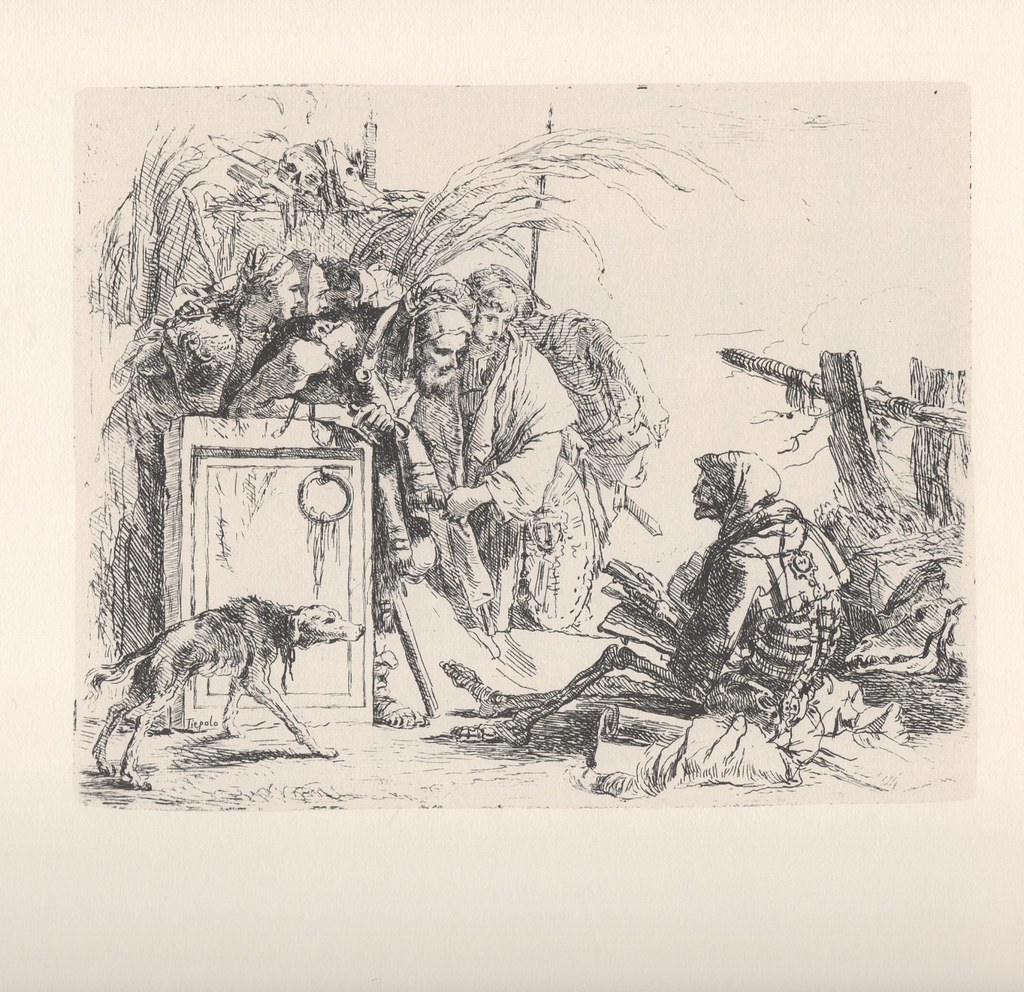 'Death Giving Audience', by Giambattista Tiepolo.