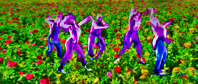 Dancing in the Fields