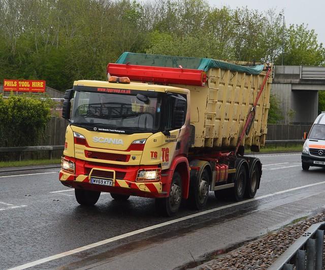 TG Group MV69 KTX At Welshpool