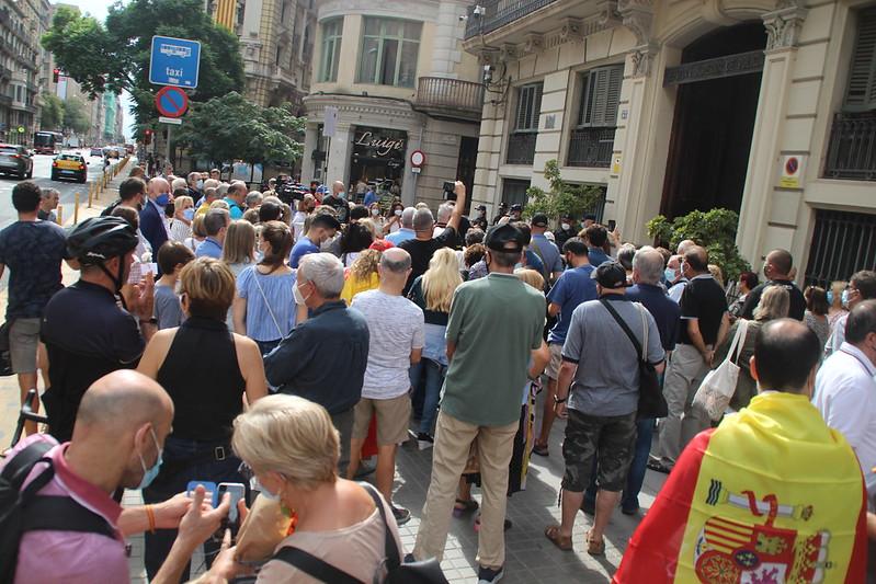 Cataluña rinde homenaje de agravio a Policías Nacionales perseguidos por el separatismo