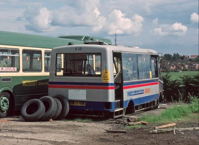 WMT 638, Metrowest, Brierley Hill, 1994