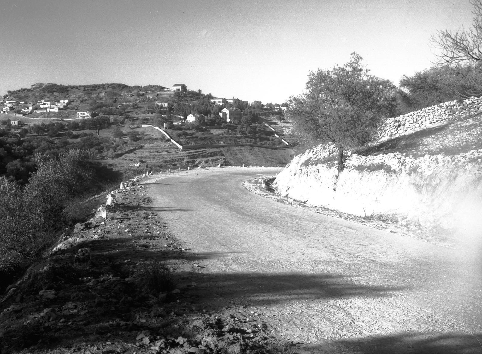 1937. Окраина Цфата, от дороги на Рош-Пину