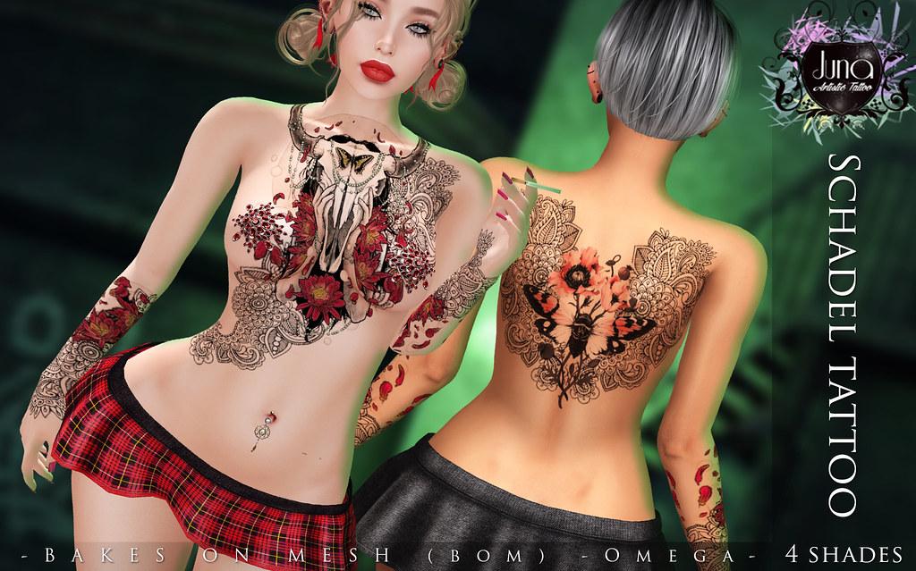 Schadel tattoo