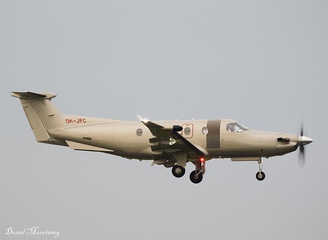 Fly 7 Executive Aviation PC-12 OH-JFC