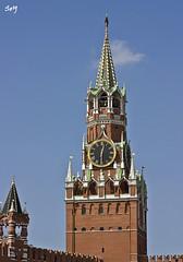La Torre Spásskaya, Kremlin, Moscú