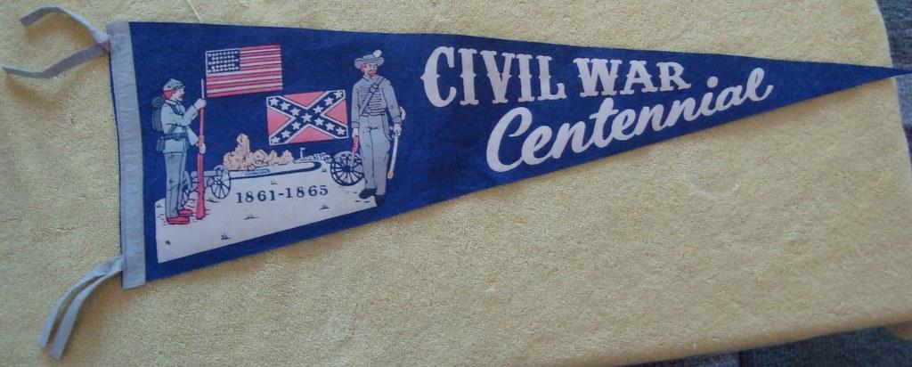 Civil War Centennial Pennant