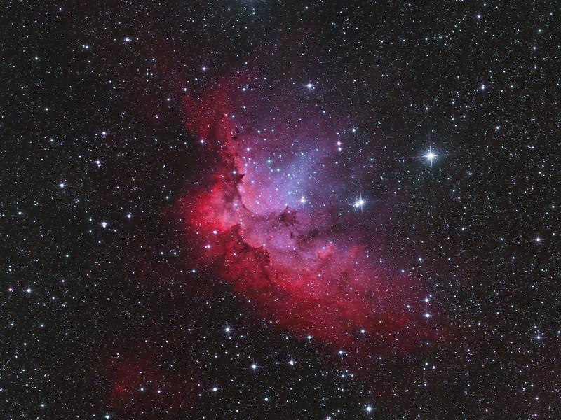Ágoston Zsolt - NGC 7380 Varázsló-köd - VCSE