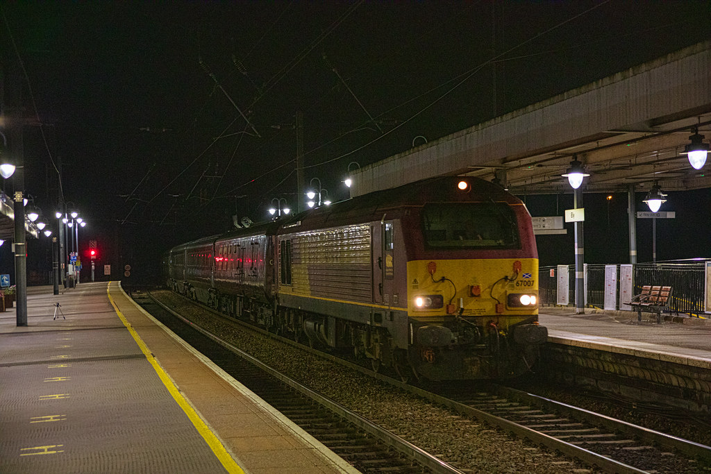 67007 The Royal Train Ely 18/09/2021
