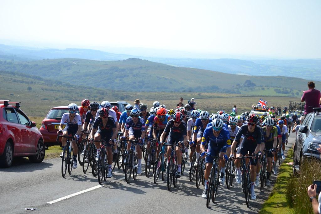 Tour of Britain 2021 - Rundlestone, Dartmoor.