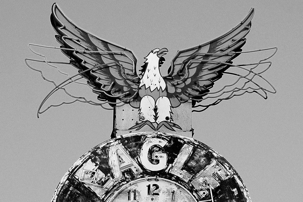 Vintage Neon Eagle