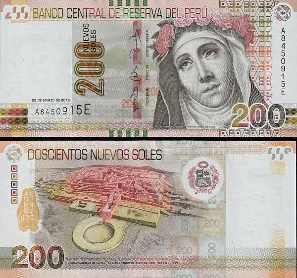 200 Nuevos Soles Peru 2012 (2018), P191