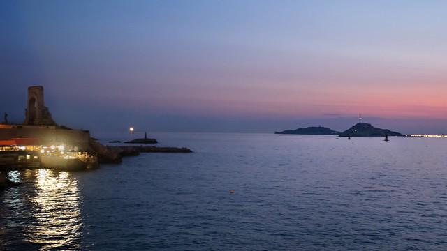 Twilight on the Corniche …