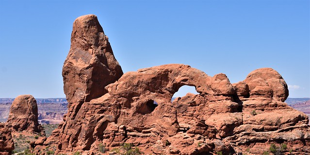 Turret Arch @ Arches National Park, Utah