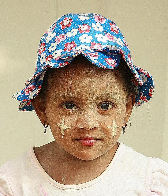 cute burmese child