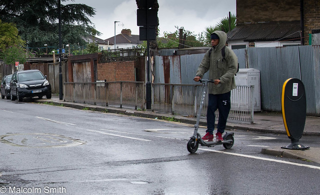 Scooting In The Rain