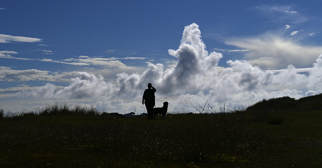 Wonderful sky in Cleder/Finistère