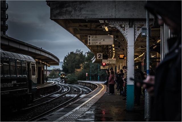 A wet commute
