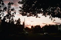 Sunset, Alameda Ridge. 12 Sept 2021