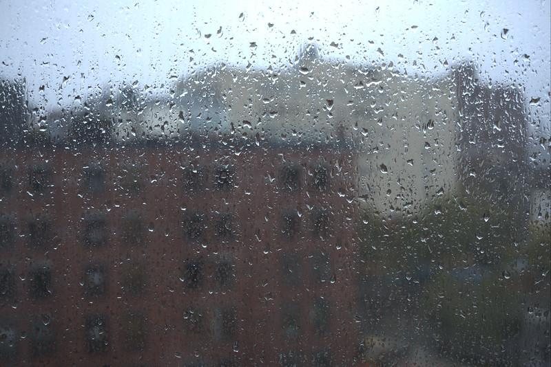 Rain in New York, again