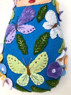 Butterfly Baby 2 detail