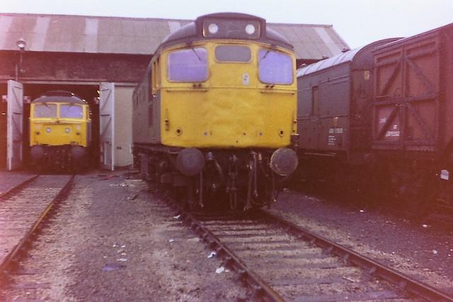 27109 at Aberdeen Ferryhill, 24th October 1981