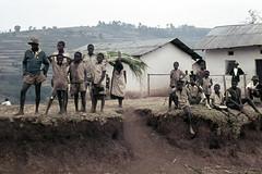 UG Kisoro area Lake Bunyonyi viewpoint - 1965 (W65-A81-37)