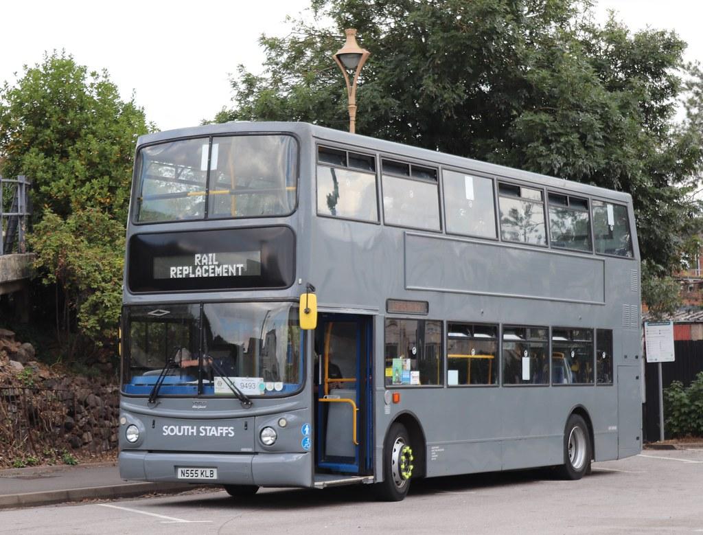 N555KLB Volvo B7TL/Alexander - South Staffs, Tamworth