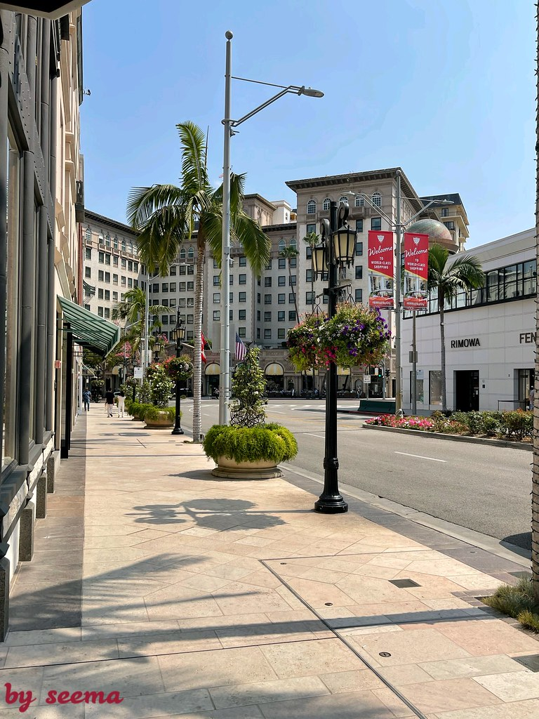Rodeo Drive Beverly Hill Calif