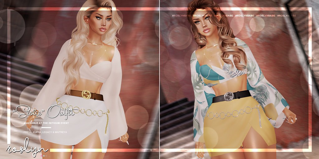 """roslyn. """"Eloise"""" Outfit @ INITHIUM // GIVEAWAY"""