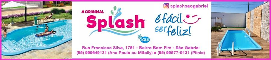 Splash Piscinas São Gabriel - É fácil ser feliz