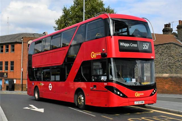LF20 XNM (Ee42) Go-Ahead London