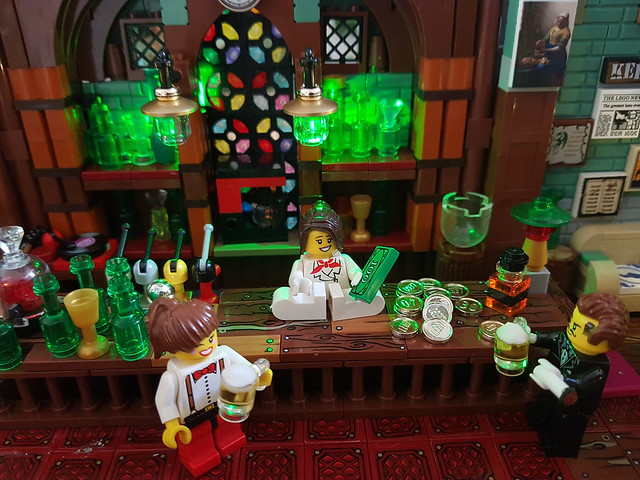 Cleaning up the pub MOC.