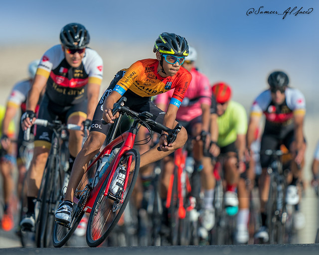 Young Bahraini Cyclist at BCA Race One 2021