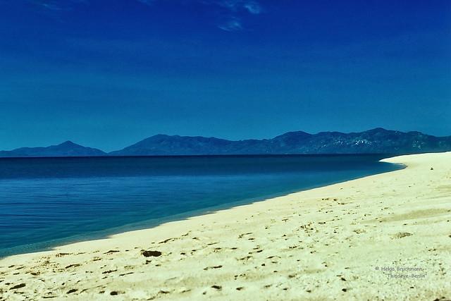 View back to Koh Oha Ngan.